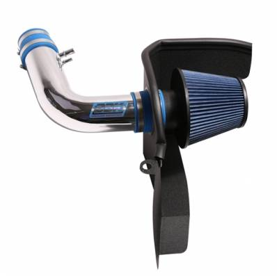 BBK Performance Parts - BBK Performance Parts 1846 - 2015-2017 Mustang 3.7L Cold Air Induction System (Chrome)