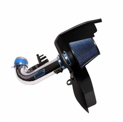 BBK Performance Parts - BBK Performance Parts 1847 - 2015-2017 Mustang Gt 5.0L Cold Air Induction System (Chrome)