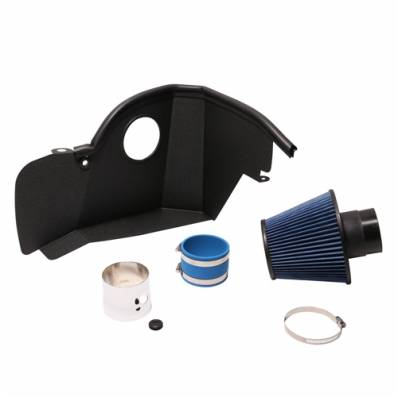 BBK Performance Parts - BBK Performance Parts 1850 - 2015-2017 Mustang Ecoboost Cold Air Intake System (Chrome)
