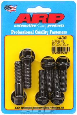 ARP - ARP 144-0901 - Chrysler 273-360 hex bellhousing bolt kit
