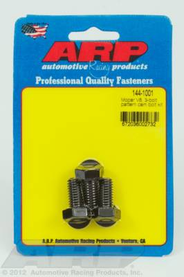 ARP - ARP 144-1001 - Mopar V8 3-bolt pattern cam bolt kit