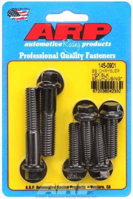 ARP - ARP 145-0901 - BB Chrysler hex bellhousing bolt kit