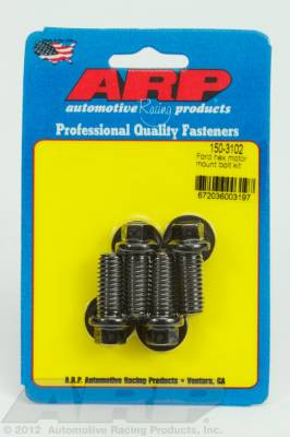 ARP - ARP 150-3102 - Ford hex motor mount bolt kit