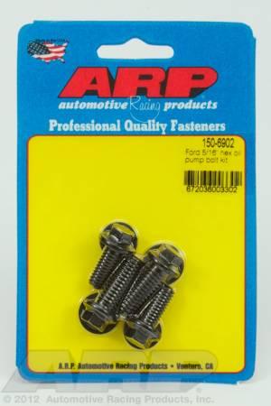 """ARP - ARP 150-6902 - Ford 5/16"""" hex oil pump bolt kit"""