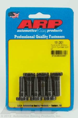 ARP - ARP 151-2801 - Ford Pinto 2000cc M10 flywheel bolt kit