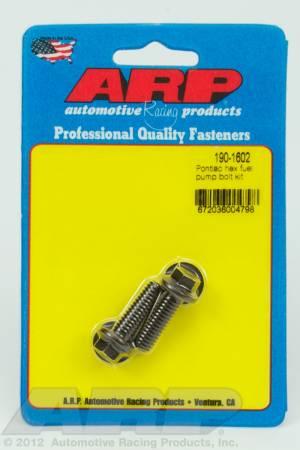 ARP - ARP 190-1602 - Pontiac hex fuel pump bolt kit