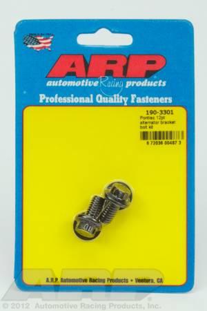 ARP - ARP 190-3301 - Pontiac 12pt alternator bracket bolt kit