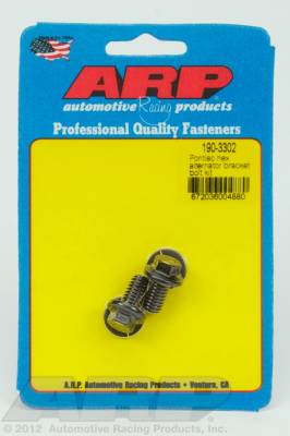 ARP - ARP 190-3302 - Pontiac hex alternator bracket bolt kit