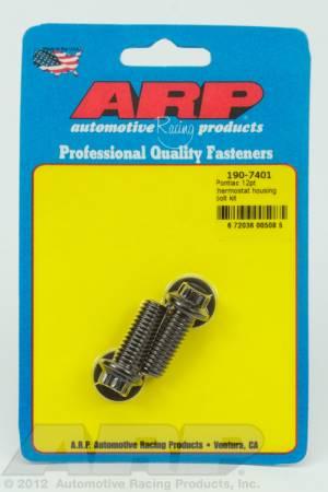 ARP - ARP 190-7401 - Pontiac 12pt thermostat housing bolt kit