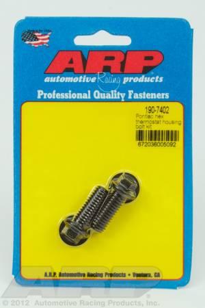 ARP - ARP 190-7402 - Pontiac hex thermostat housing bolt kit