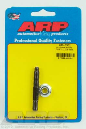 "ARP - ARP 200-0301 - 5/16"" x 2.225 air cleaner stud kit"