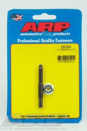 "ARP - ARP 200-0304 - 1/4"" x 2.225  air cleaner stud kit"