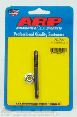 "ARP - ARP 200-0305 - 1/4"" x 2.700  air cleaner stud kit"