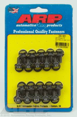 ARP - ARP 200-1801 - SB Mopar & Pontiac oil pan bolt kit