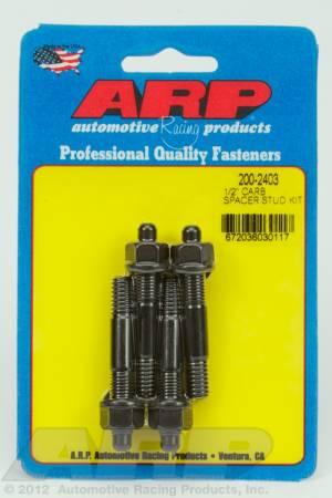 """ARP - ARP 200-2403 - 1/2"""" carburetor spacer stud kit 2.225"""" OAL"""