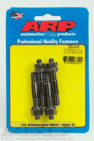 ARP - ARP 200-2416 - HP Dominator carb stud kit, no spacer