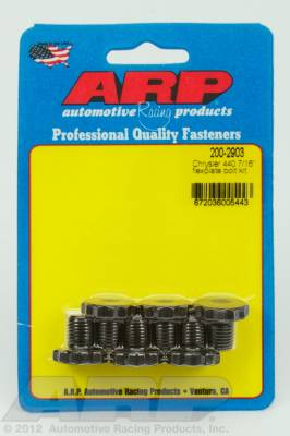 "ARP - ARP 200-2903 - Chrysler 440 7/16"" flexplate bolt kit"
