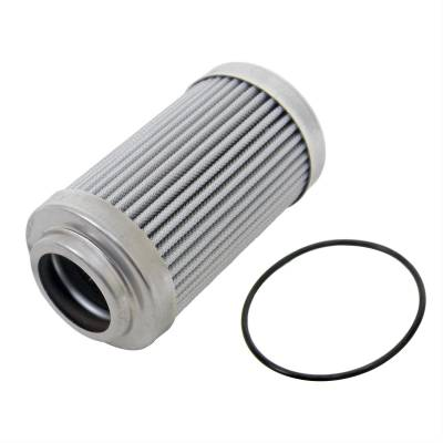 """Aeromotive Fuel System - Aeromotive Fuel System 12650 - Replacement Element, 10-m Microglass, for 12340/12350 Filter Assembly, Fits All 2"""" OD Filter Housings, For Gas and Alcohol Fuels"""
