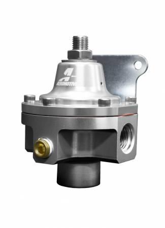 Aeromotive Fuel System - Aeromotive Fuel System 13222 - Carbureted Adjustable Regulator, Low Pressure, 1.5-5psi, 2-Port, ORB-06
