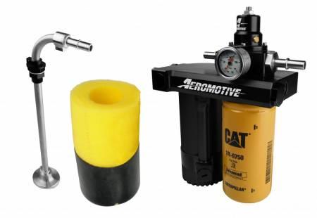 "Aeromotive Fuel System - Aeromotive Fuel System11803 - Fuel Pump, Diesel, Duramax, 01-10, Retro Fit Kit For 1/2"" Lines"