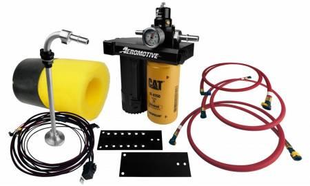 Aeromotive Fuel System - Aeromotive Fuel System11801 - Fuel Pump, Diesel, 01-10 Duramax Complete Kit