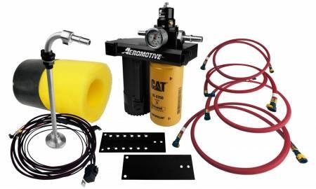 Aeromotive Fuel System - Aeromotive Fuel System11807 - Fuel Pump, Diesel, 08-10 Ford Powerstroke Complete Kit