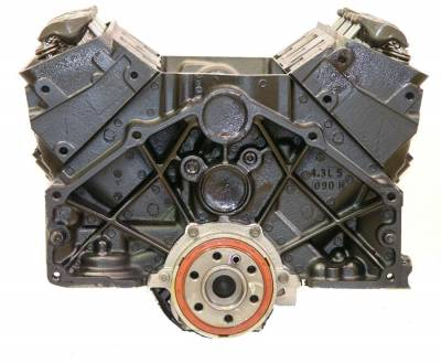 ATK - ATK DCW4 - Engine Long Block for CHEV 4.3/262 01-07 ENGINE