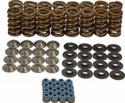 """SDPC - SDPC .650"""" Dual Spring Kit with titanium retainers for LS Engines"""
