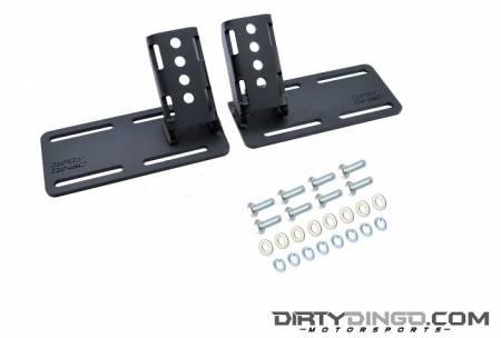 Dirty Dingo - Dirty Dingo DD-LS-SR-EM - LS Street Rod Complete Adjustable Engine Mounts