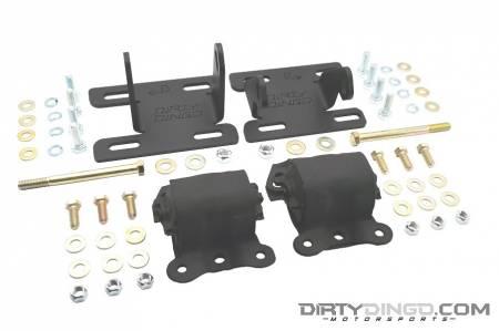 Dirty Dingo - Dirty Dingo DD-LS-S-4 - S-10 4WD Complete LS Mount Swap Kit