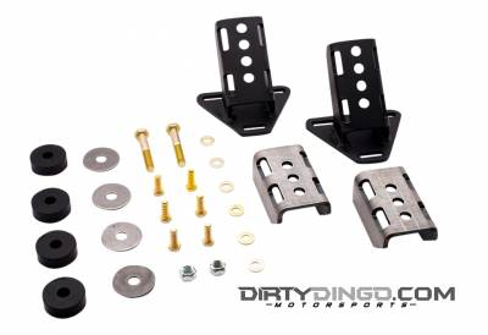 Dirty Dingo - Dirty Dingo DD-SR-GM-CM - GM 3 Bolt Big and Small Block Street Rod Mounts