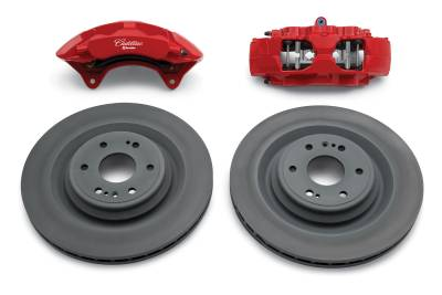 GM Accessories - GM Accessories 84610131 - Brembo Performance Front Brake Kit for 2015-2020 Escalade & Escalade ESV