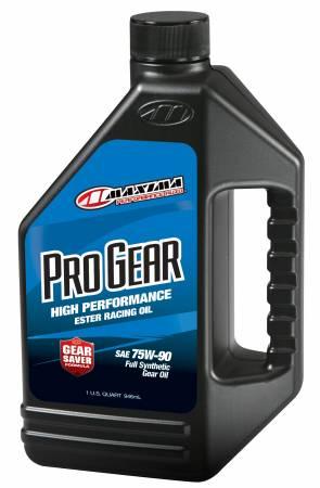 Maxima Racing Oils - Maxima Racing Oils 49-44901 - Pro Gear Oil - 1 qt. Bottle