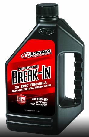 Maxima Racing Oils - Maxima Racing Oils 39-11901 - 15W-50 Performance Break-In Oil - 1 qt. Bottle