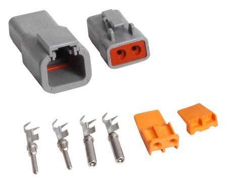 MSD - MSD 8184 - 2-Pin Deutsch Connector, 12-14 gauge