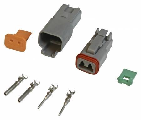 MSD - MSD 8183 - 2-Pin Deutsch Connector, 16 gauge