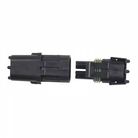 MSD - MSD 8173 - 2-Pin Weathertight Connector, 1 qty