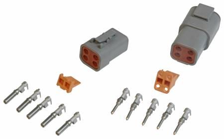 MSD - MSD 8187 - 4-Pin Deutsch Connector, 12-14 gauge
