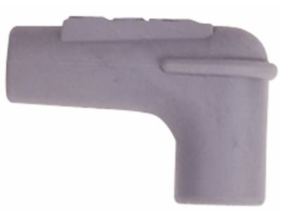 MSD - MSD 34515 - 90 Spark Plug Boot, Gray Silicone, 100each