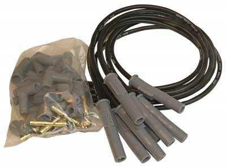 MSD - MSD 31193 - Black Super Conductor 8 Cyl Multi-Angle, Universal