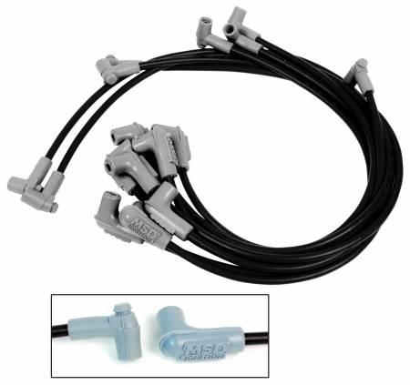 MSD - MSD 31763 - Black Super Conductor Corvette, 305, 350 HEI