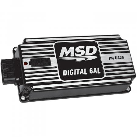 MSD - MSD 64253 - Black, 6AL, Digital Ignition w/Rev Control