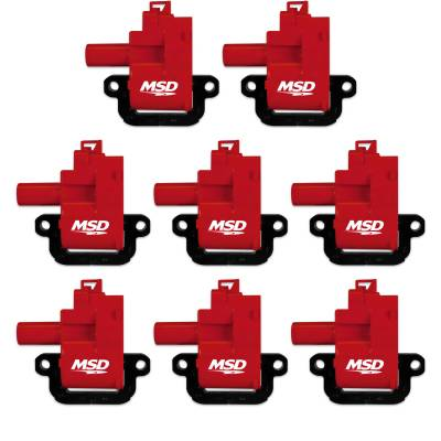 MSD - MSD 82628 - Blaster Coil for '98-'06 GM LS1/LS6 Engines, 8-Pack