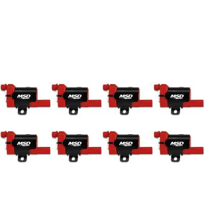 MSD - MSD 82638 - Blaster LS Coil for '99-'07 GM L-Series Truck, 8-Pack