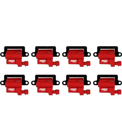 MSD - MSD 82648 - Blaster LS Coils for '99-'09 GM L-Series Truck, 8-Pack
