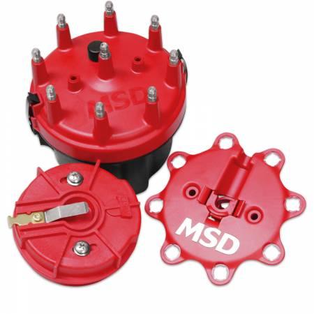 MSD - MSD 8420MSD - Cap-A-Dapt Kit for Chevy V8
