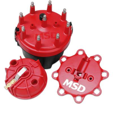 MSD - MSD 8445 - Cap-A-Dapt Kit, Fixed Rotor