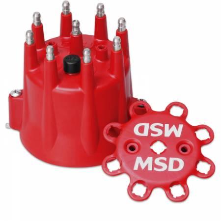 MSD - MSD 8433 - Chevy V8 HEI Retainer Distributor Cap
