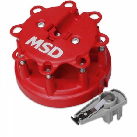 MSD - MSD 8482 - Distributor Cap and Rotor Kit, MSD/Ford V8 TFI, '85-'95