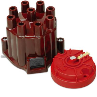 MSD - MSD 8442 - Distributor Cap and Rotor, MSD/GM V8 Points
